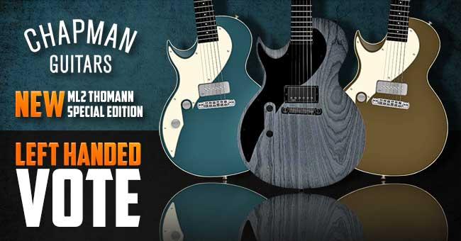 Chapman Guitars Left Handed Vote