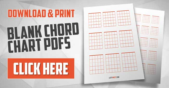 photo about Printable Blank Guitar Chord Chart identify Blank Guitar Chord Charts - Obtain Print