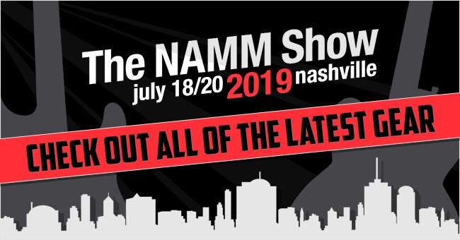Summer NAMM 2019 Left Handed Guitars