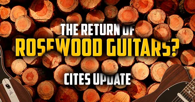 CITES Rosewood Restrictions Lifted