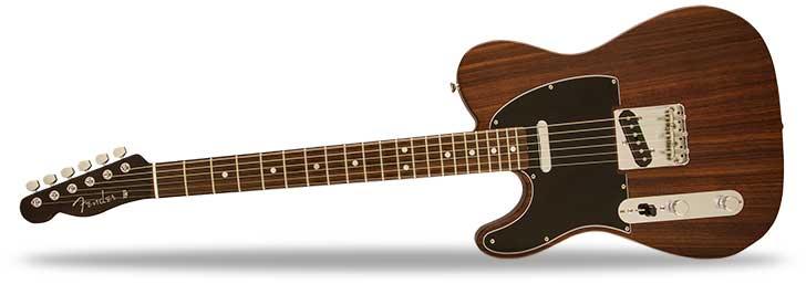 Left Handed Rosewood Fender Telecaster