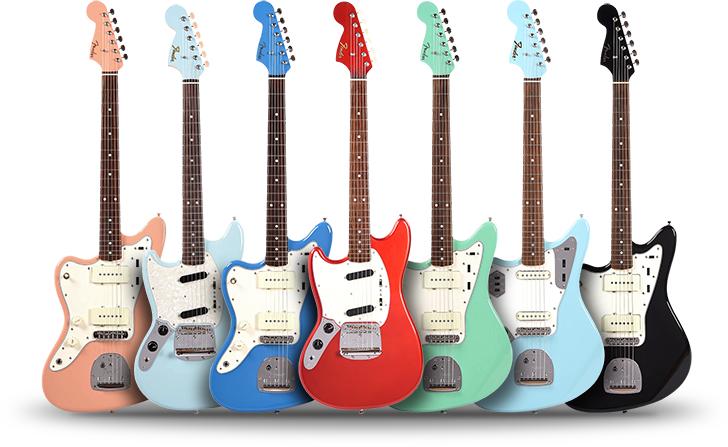 Fender MIJ Left Handed Offset Guitars