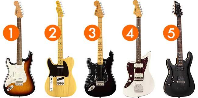 Cheap Left Handed Guitars