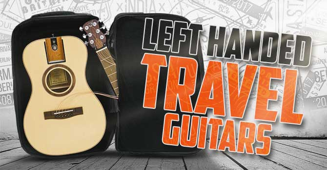 Left Handed Travel Guitar