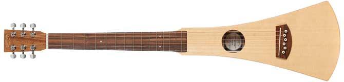 Martin Backpacker Left Handed Travel Guitar