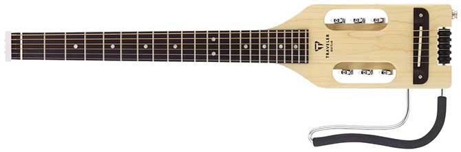 Traveler Ultra-Light Acoustic Left Handed Travel Guitar