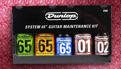 Guitar maintenance kit