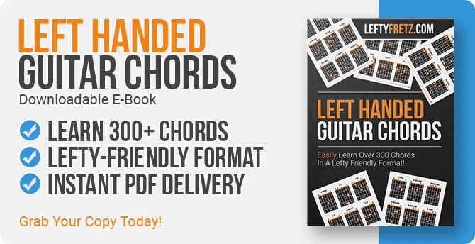 Left Handed Guitar Chord Book