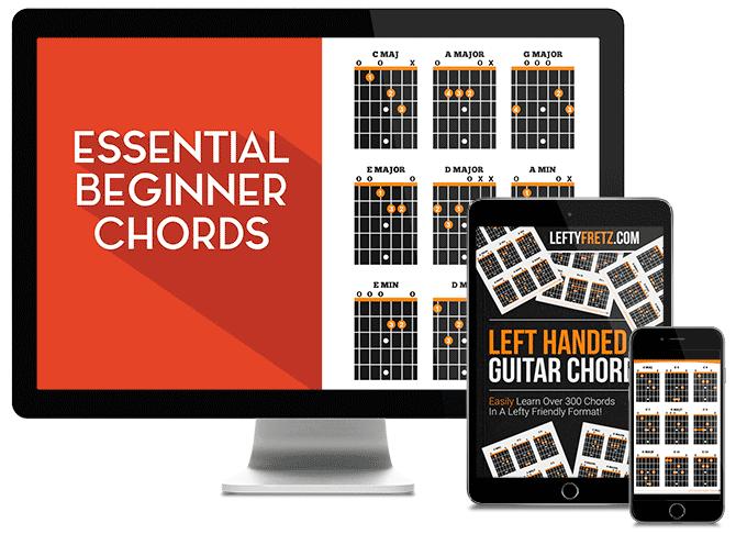 Left Handed Guitar Chords Ebook