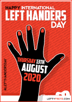 left handers day 2020 thumb