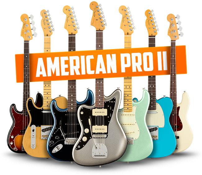 Fender Left Handed American Pro II Guitars
