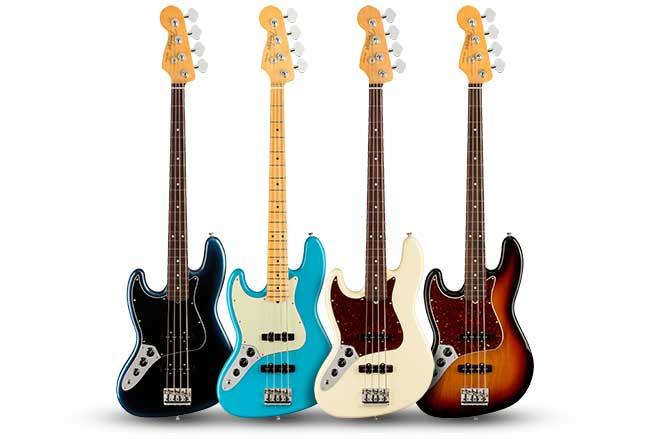 Fender American Pro II Left Handed Jazz Bass