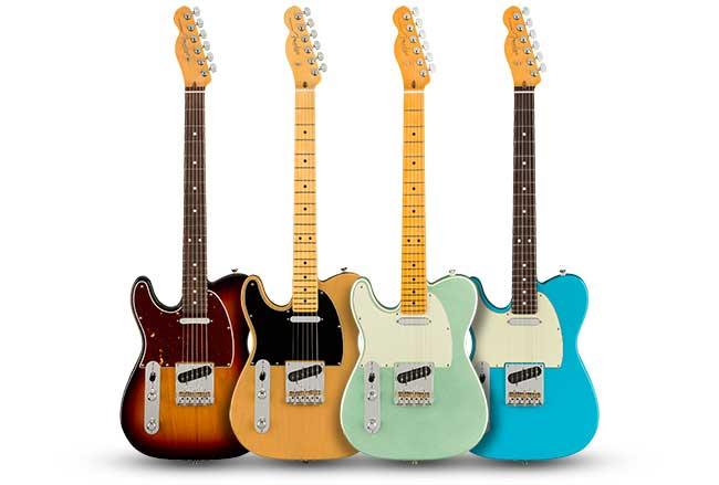 Fender American Pro II Left Handed Telecaster