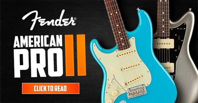 Left Handed Fender American Pro II