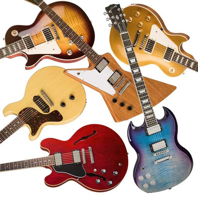 Gibson Left Handed Guitars