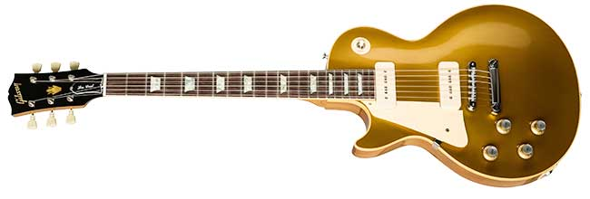 Gibson Custom gaucher 1968 Les Paul Standard Goldtop Réédition