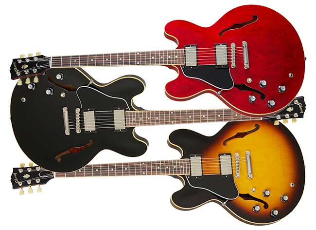 Left Handed Gibson ES-335