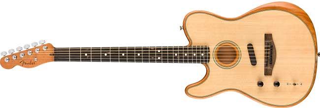 Left Handed Fender American Acoustasonic Telecaster