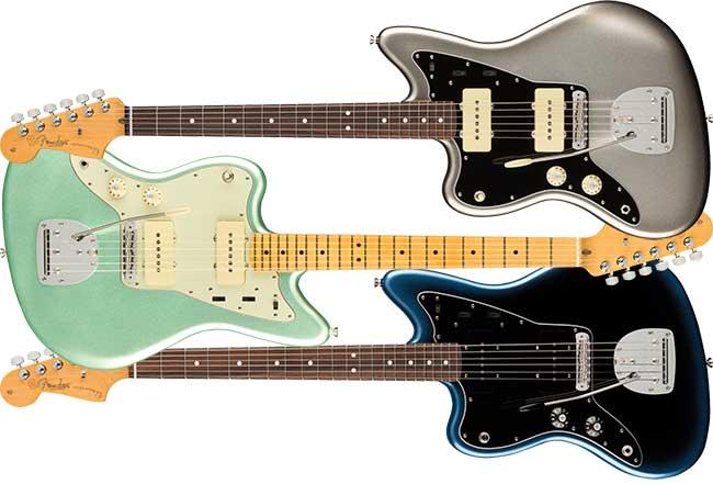 Left Handed Fender American Pro II Jazzmaster