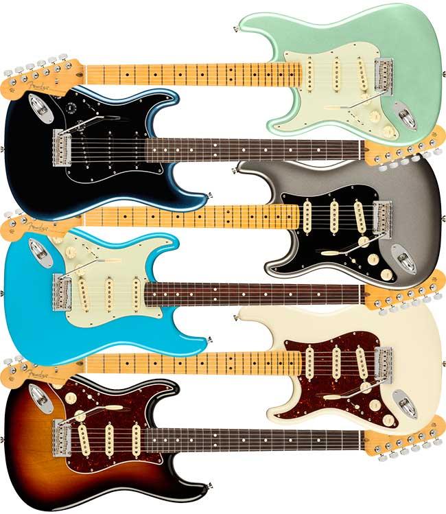 Left Handed Fender American Pro II Stratocaster