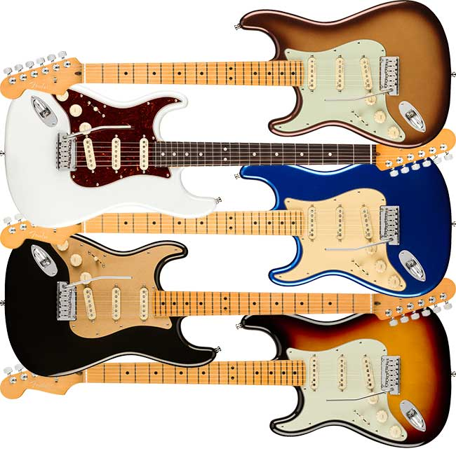 Left Handed Fender American Ultra Stratocaster