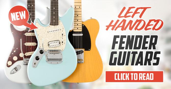 Left Handed Fender Guitars