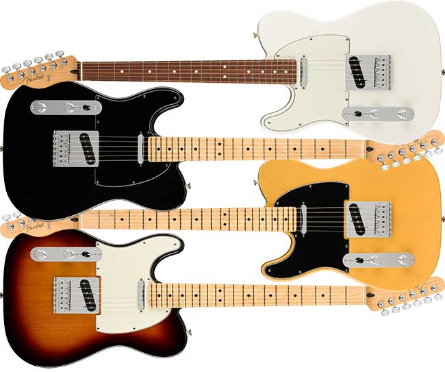 Left Handed Fender Player Telecaster