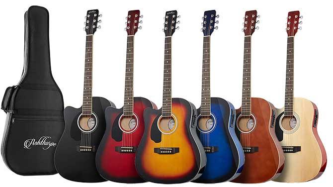 Best Cheap Left Handed Acoustic Guitar