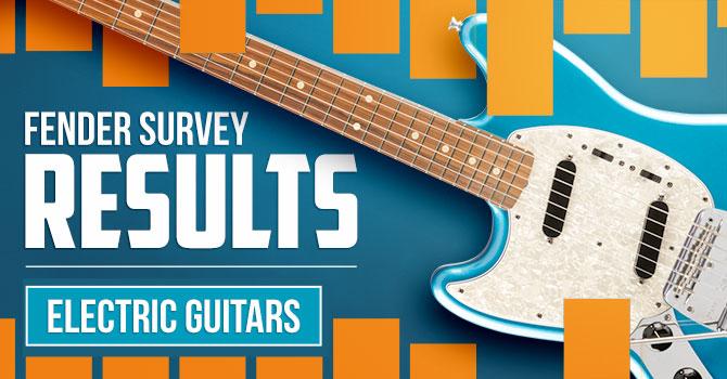 Fender Left Handed Electric Guitar Survey