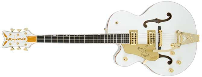 Gretsch G6136TLH Players Edition Falcon avec la main gauche