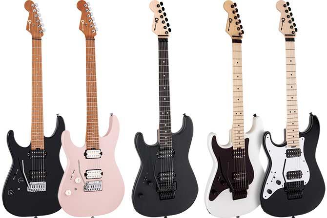 Left Handed Charvel Guitars