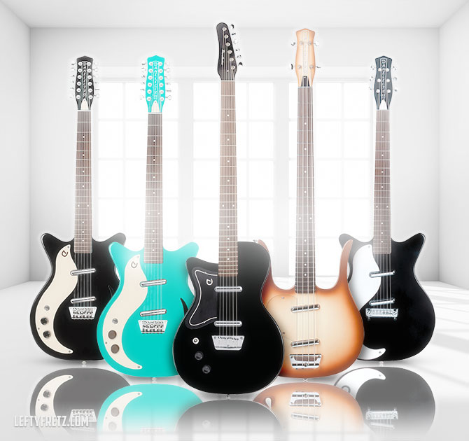 Danelectro Left Handed Guitars