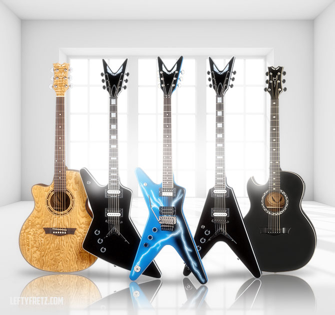 Left Handed Dean Guitars