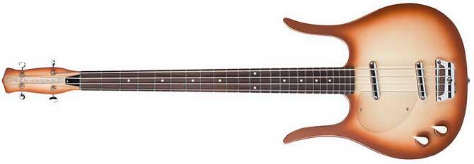 Longhorn Danelectro Left Handed Bass