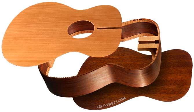Acoustic guitar composition