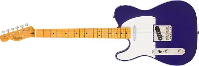 Andertons Left Handed Squier Classic Vibe Telecaster FSR Purple