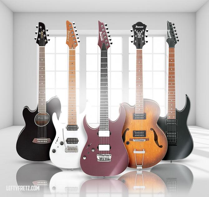Left Handed Ibanez Guitars