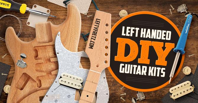 Left Handed DIY Guitar Kits