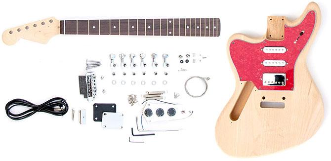 Left Handed DIY Jaguar Guitar Kit