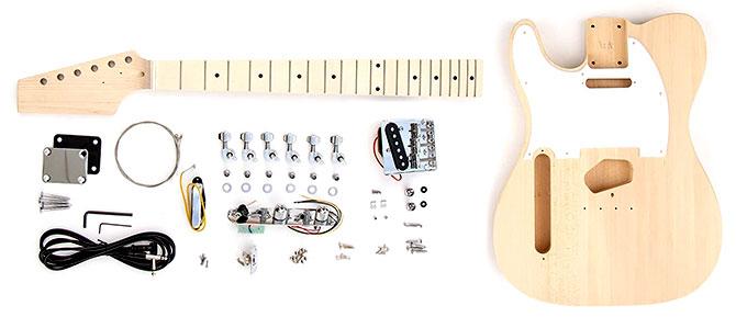 Left Handed DIY Telecaster Guitar Kit