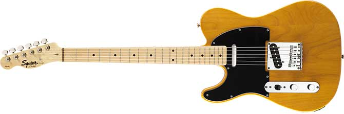 Left Handed Squier Affinity Telecaster