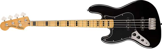 Squier Classic Vibe 70s Jazz Bass Left Handed