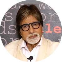 Amitabh Bachchan Left Handed