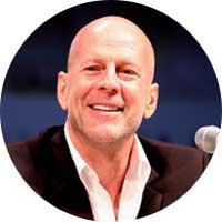Bruce Willis Left Handed