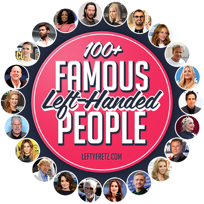 Famous Left Handed People