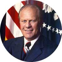 Gerald Ford Left Handed