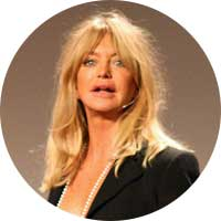 Goldie Hawn Left Handed