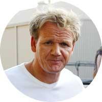 Gordon Ramsay Left Handed