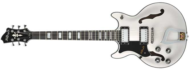 Hagstrom Alvar Left Handed Guitar