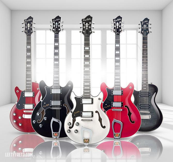 Hagstrom Left Handed Guitars